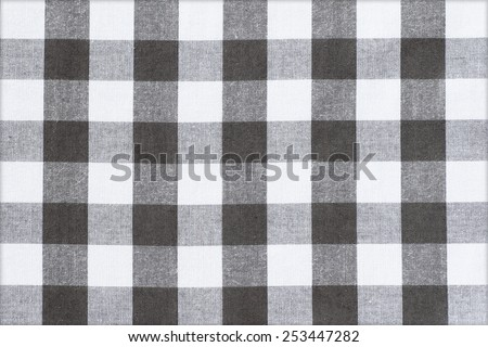 Black and white loincloth fabric texture background