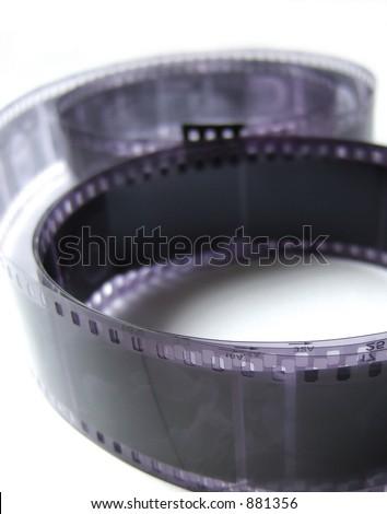 Black and White negatives - stock photo