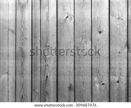 black and white old barn board, texture - stock photo