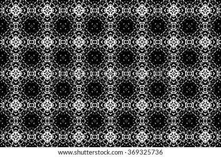 Black-and-white patterns. D