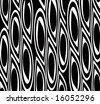 Black and white retro background - stock photo