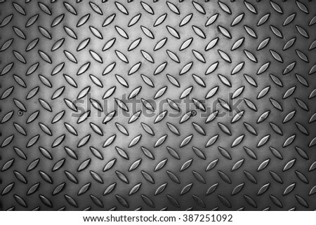 black and white rusty steel plate texture background