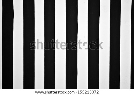 Black and white stripe background - stock photo