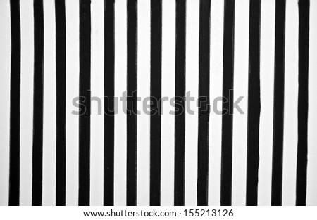 Black and white stripes - stock photo