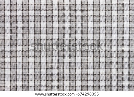 Black And White Tablecloth Fabric Texture Pattern Background