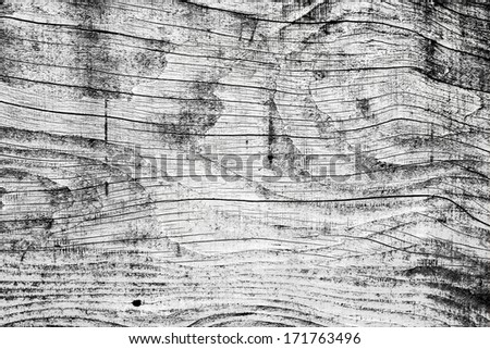 black and white wall wood texture background - stock photo