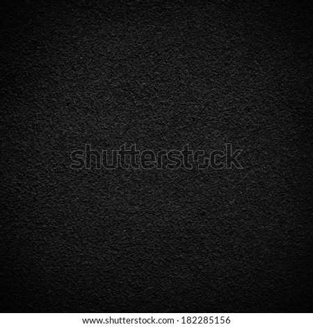 black background canvas texture - stock photo