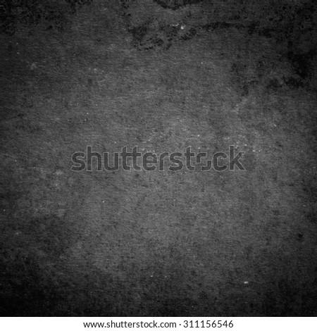 Black background. Grunge texture - stock photo
