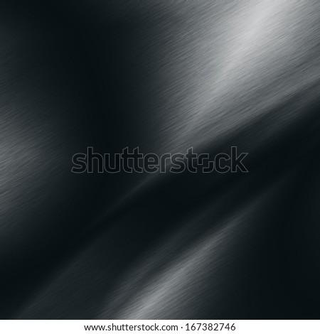 black background metal texture spot light effect - stock photo