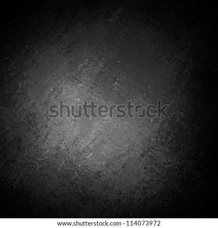 black background or gray background with abstract white center highlight and vintage grunge background texture, black and white background for printing monochrome brochure or ad, luxurious background - stock photo