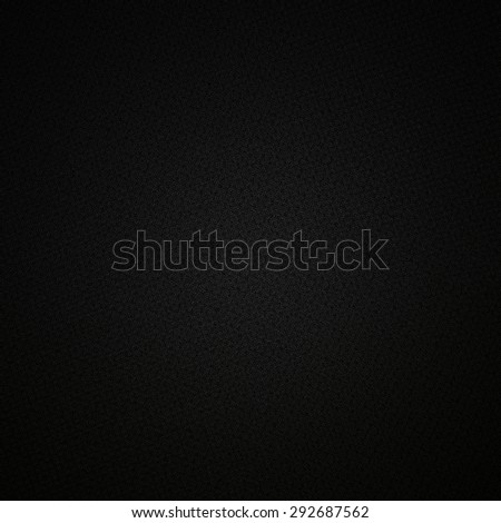 black background subtle gray canvas fanric texture pattern - stock photo