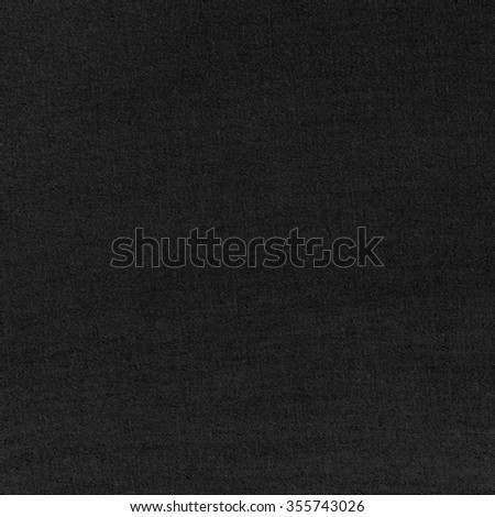 black background texture canvas texture background - stock photo