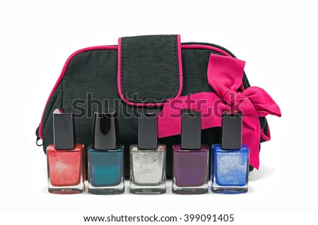 stock-photo-black-bag-for-cosmetics-and-