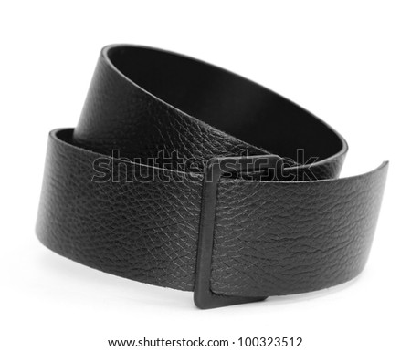 black belt. - stock photo