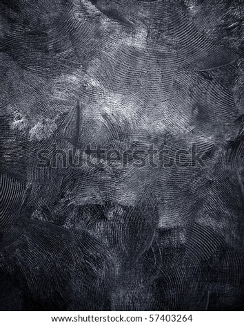 black canvas background - stock photo