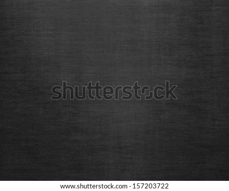 Black canvas grunge background texture - stock photo