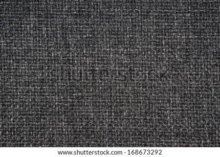 Black car textile macro texture - stock photo