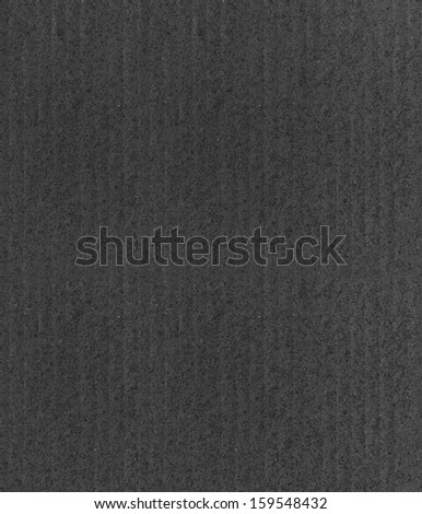 black cardboard texture - stock photo