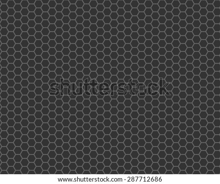 black cell comb seamless pattern