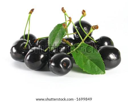 black cherry - stock photo