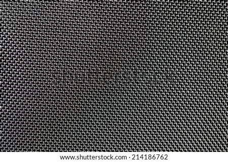 black cloth as background. close-up - stock photo