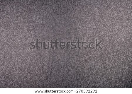 black color synthetic leather texture background - stock photo