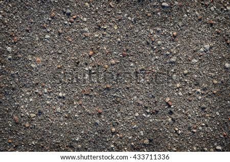 black concrete background - stock photo