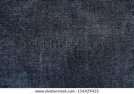 Black corduroy pants texture background - stock photo