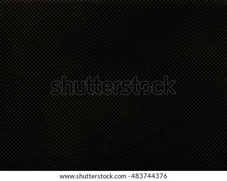 Black corrugated plastic texture useful as a background vintage sepia