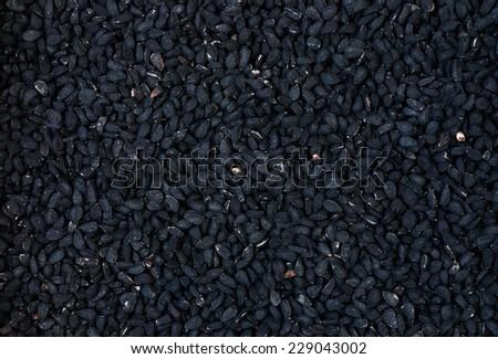 Black cumin - stock photo