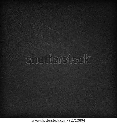 Black dark wall background or texture - stock photo