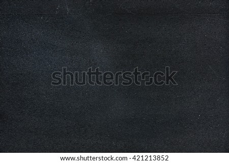 Black dirty chalkboard background - stock photo