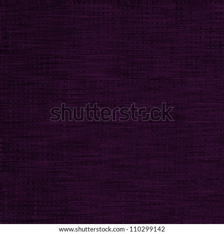 black fabric canvas texture  background with violet pattern unique texture - stock photo