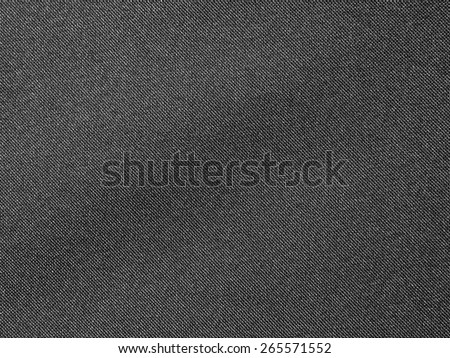 Black fabric texture detail