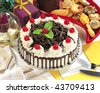 Black Forest Cake - stock photo