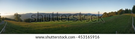 Black Forest Panorama, Germany - stock photo
