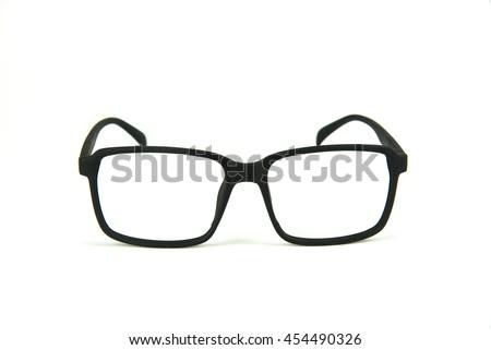 black frame glasses without lenses