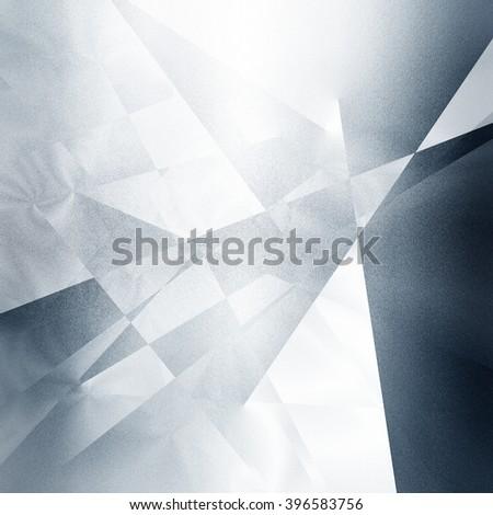 Black geometric pattern - stock photo