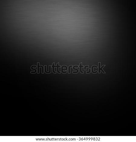 black gradient background steel metal texture - stock photo