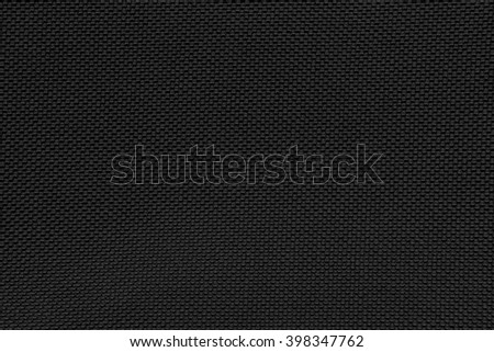 Black gray fishnet cloth material as a texture background. Black nylon texture for background with copy space for text or image.