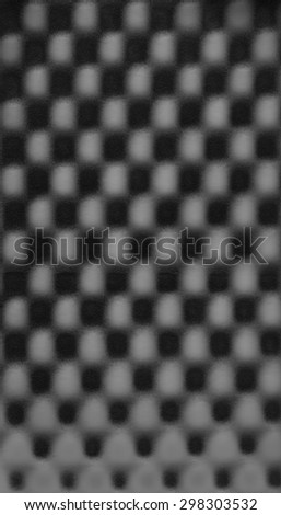 Black gray grey abstract pattern foam chess texture background pattern - stock photo
