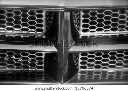 Black Grill - stock photo