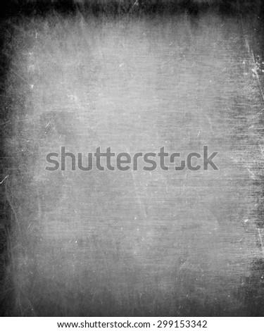 black grunge frame texture - stock photo
