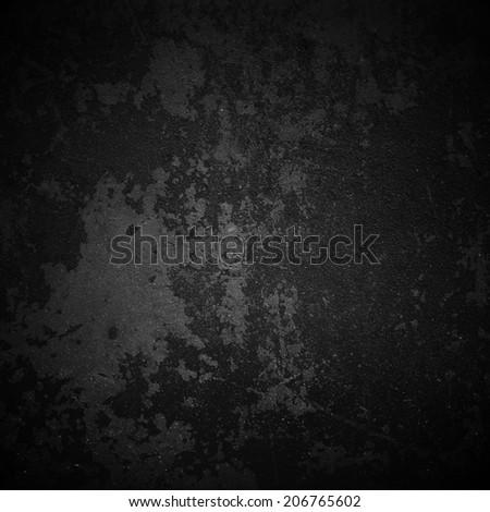 black grunge texture - stock photo