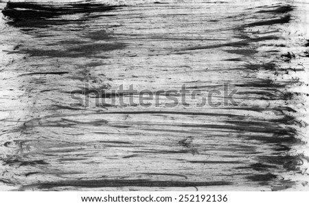 Black grungy abstract watercolor painted background for your design with space for text - stock photo