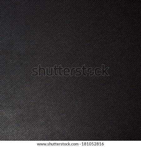 black high quality background, corduroy black background  - stock photo
