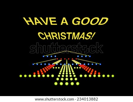 black info signage with written text, have a good Christmas - stock photo