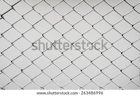 black iron mesh - stock photo
