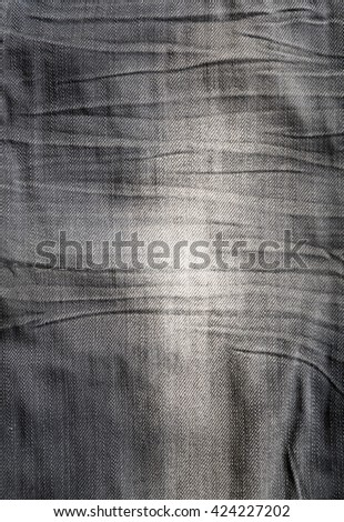 Black jeans background - stock photo