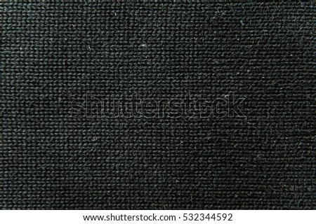 black knitted wool material background